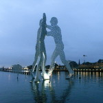 Скульптура «Молекулярный человек»
